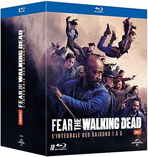 Fear The Walking Dead-L'intégrale des Saisons 1 à 5 [Blu-Ray] 1